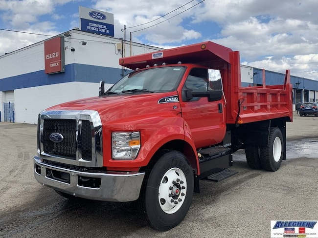 2019 Ford F-650 F6A Regular Cab Chassis Cab