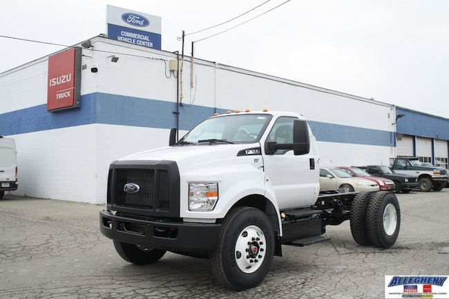 2019 Ford F-650 F6A Super Duty Regular Cab Chassis Cab