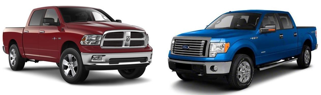 gallery for dodge vs ford truck. Black Bedroom Furniture Sets. Home Design Ideas