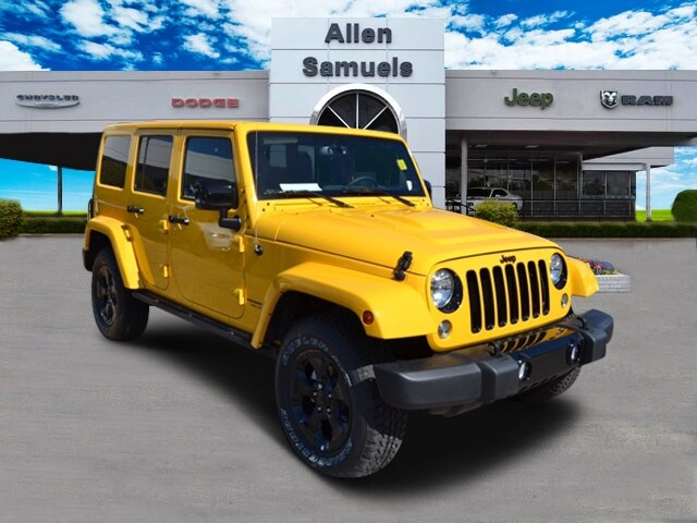 2015 jeep wrangler unlimited altitude for sale in dallas. Cars Review. Best American Auto & Cars Review
