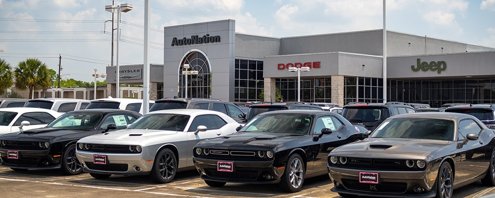 Autonation Chrysler Dodge Jeep Ram Houston Exterior