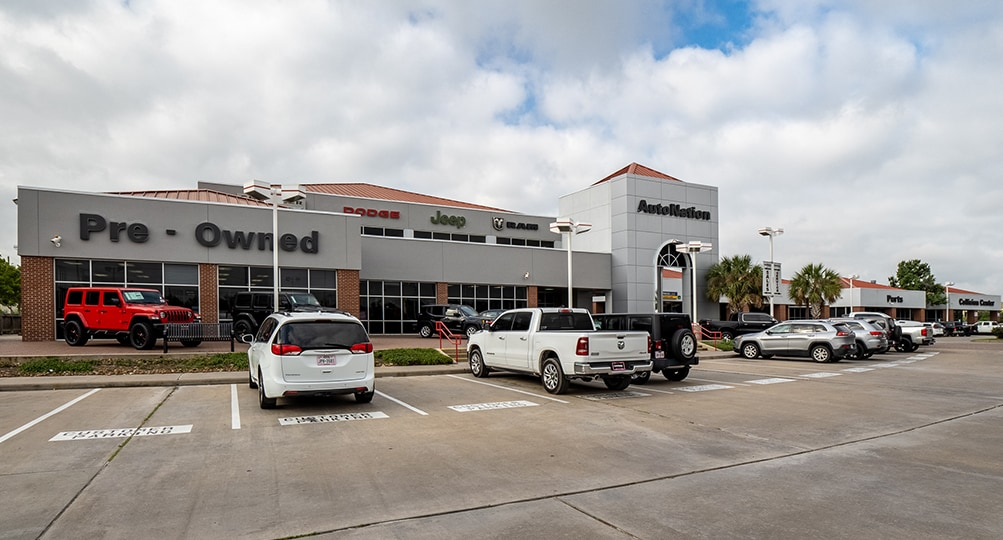 About AutoNation Chrysler Dodge Jeep RAM Katy