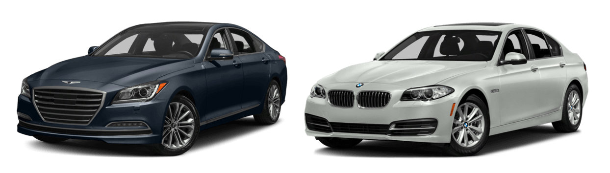 2017 Genesis G80 vs BMW 5-Series