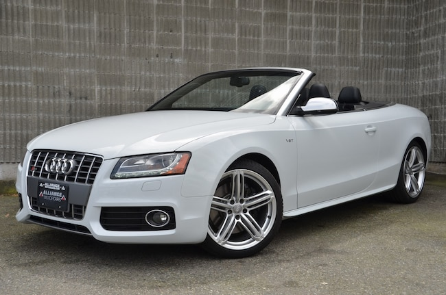 2012 Audi S5 Convertible! AWD! 3.0L V-6 producing 331HP! Cabriolet