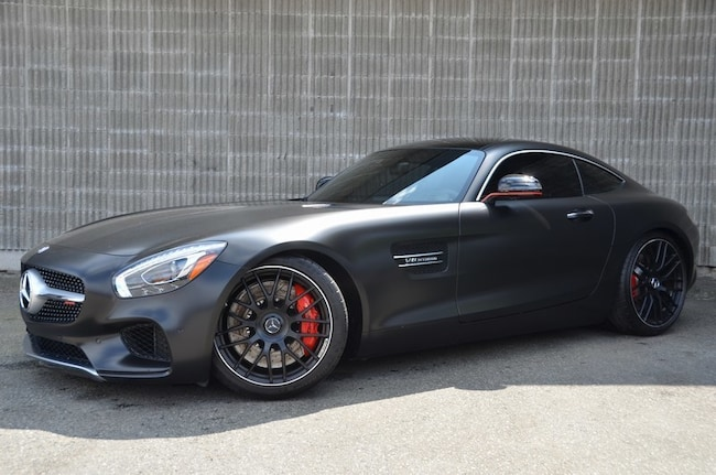2016 Mercedes-Benz AMG GT S, Satin Black Wrap! Coupe