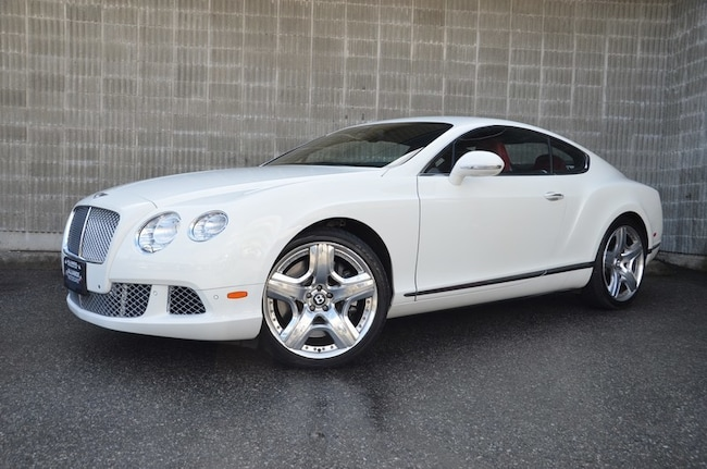 2012 Bentley Continental GT Coupe! AWD! Navigation/Back-up Camera/Leather Coupe