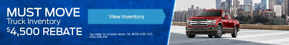 Must Move Truck Inventory