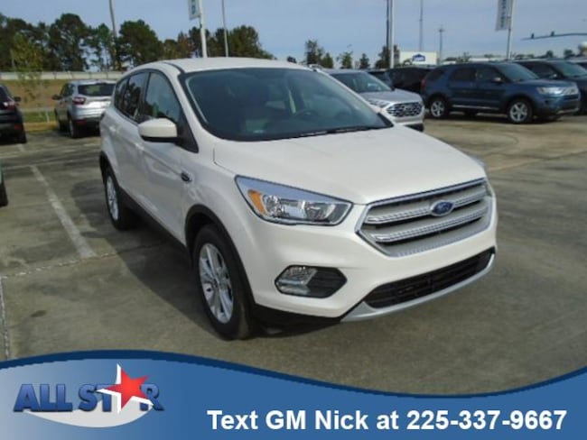 New 2019 Ford Escape SE FWD Sport Utility For Sale /Lease Denham Springs, Louisiana