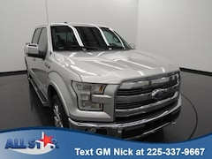 Certified Pre-Owned 2016 Ford F-150 4WD Supercrew 145 Lariat Crew Cab Pickup near Baton Rouge