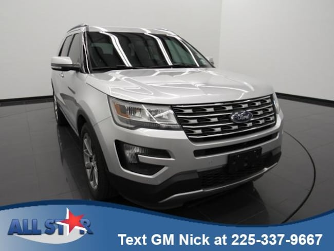 Certified Pre-Owned 2016 Ford Explorer FWD 4dr Limited Sport Utility For Sale Denham Springs, LA