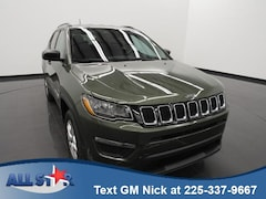 Certified Pre-owned 2018 Jeep Compass Sport FWD SUV for sale in Denham Springs, LA