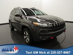 Certified Pre-owned 2016 Jeep Cherokee Trailhawk 4x4 SUV for sale in Denham Springs, LA
