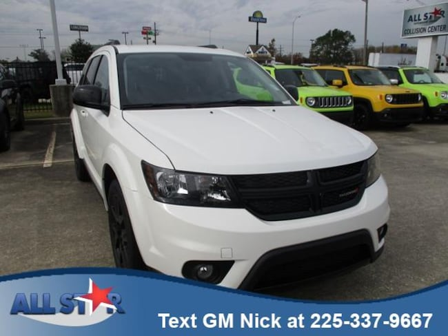 New 2018 Dodge Journey SXT Sport Utility for sale or lease in Denham Springs, LA