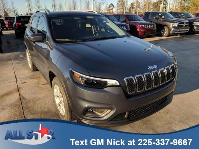 New 2019 Jeep Cherokee LATITUDE FWD Sport Utility for sale or lease in Denham Springs, LA