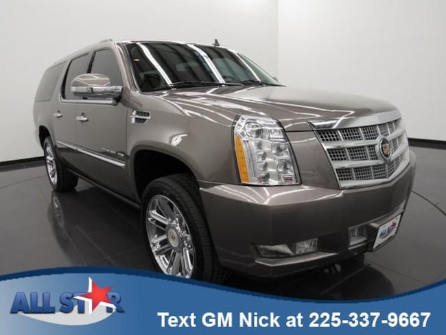 Used 2013 CADILLAC Escalade ESV Platinum Edition SUV for sale in Denham Springs, LA