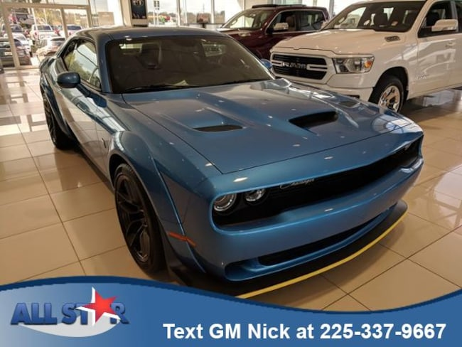 New 2019 Dodge Challenger R/T SCAT PACK Coupe for sale or lease in Denham Springs, LA