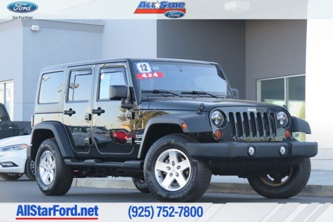 2012 Jeep Wrangler Unlimited Sport SUV in Pittsburg, CA