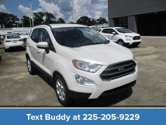 New 2018 Ford EcoSport SE FWD Sport Utility For Sale/Lease Prairieville, LA