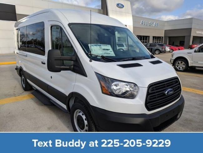 New 2019 Ford Transit Passenger T-350 148 Med Roof XL Sliding RH D Full-size Passenger Van For Sale/Lease Prairieville, LA