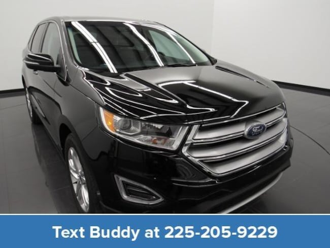 Certified Pre-Owned 2018 Ford Edge Titanium AWD Sport Utility For Sale Prairieville, Louisiana