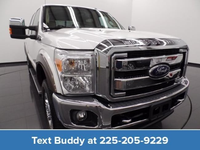 Used 2015 Ford Super Duty F-250 SRW 4WD Crew Cab 156 Lariat Crew Cab Pickup For Sale Prairieville, Louisiana