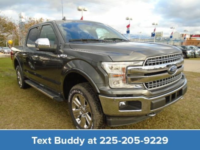 New 2018 Ford F-150 Lariat 4WD Supercrew 5.5 Box Crew Cab Pickup For Sale/Lease Prairieville, LA