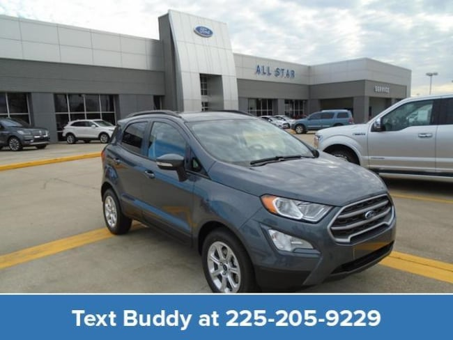 New 2019 Ford EcoSport SE FWD Sport Utility For Sale/Lease Prairieville, LA