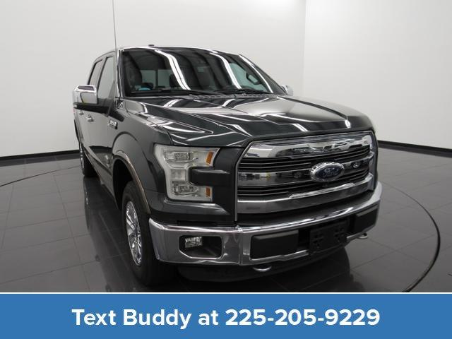 2015 Ford F-150 4WD Supercrew 145 King Ranch Crew Cab Pickup