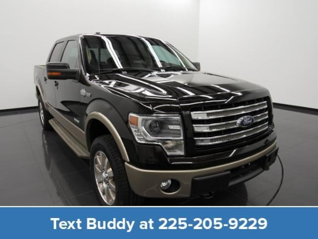 Used 2014 Ford F-150 4WD Supercrew 145 King Ranch Crew Cab Pickup For Sale Prairieville, Louisiana