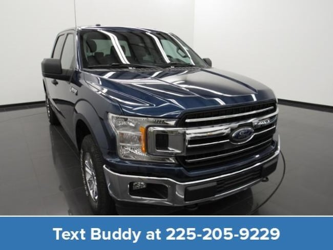 Certified Pre-Owned 2018 Ford F-150 XLT 4WD Supercrew 5.5 Box Crew Cab Pickup For Sale Prairieville, Louisiana