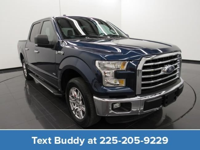 Certified Pre-Owned 2016 Ford F-150 2WD Supercrew 145 XLT Crew Cab Pickup For Sale Prairieville, Louisiana