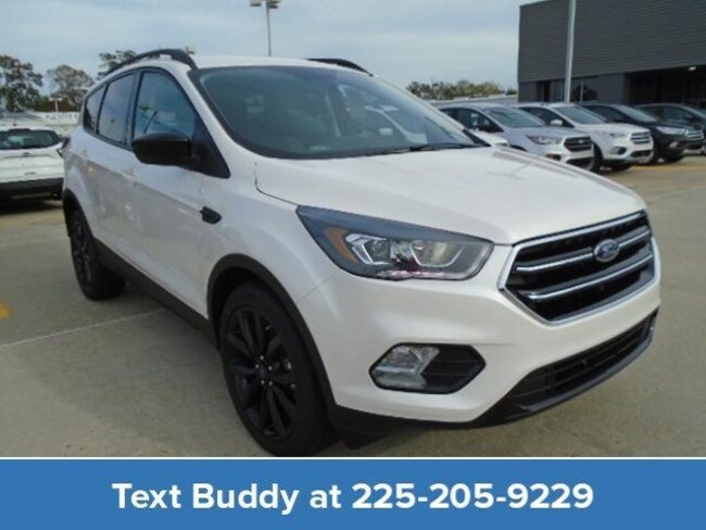 New 2019 Ford Escape SE FWD Sport Utility For Sale/Lease Prairieville, LA