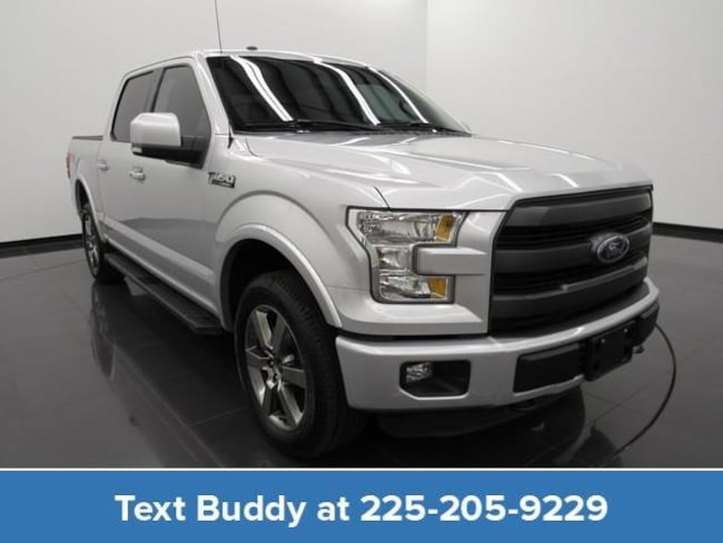 Used 2016 Ford F-150 4WD Supercrew 145 Lariat Crew Cab Pickup For Sale Prairieville, Louisiana
