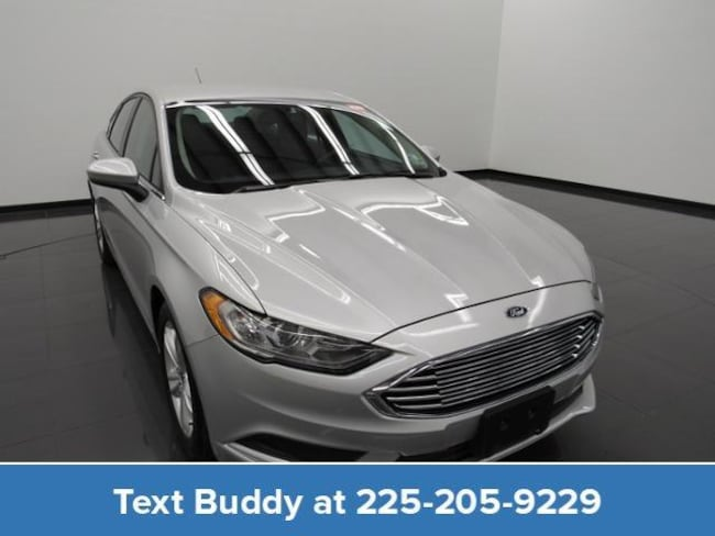 Certified Pre-Owned 2018 Ford Fusion SE FWD Car For Sale Prairieville, Louisiana