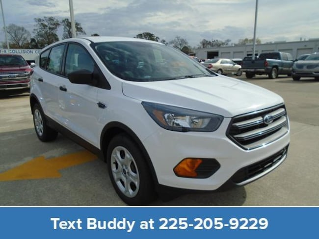 New 2019 Ford Escape S FWD Sport Utility For Sale/Lease Prairieville, LA