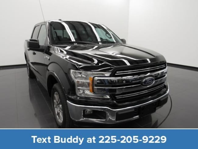 Certified Pre-Owned 2018 Ford F-150 Lariat 2WD Supercrew 5.5 Box Crew Cab Pickup For Sale Prairieville, Louisiana
