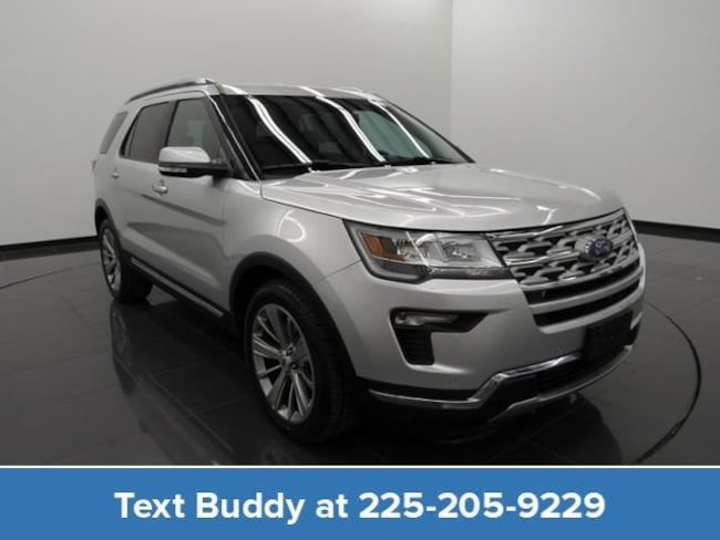 Certified Pre-Owned 2018 Ford Explorer Limited FWD Sport Utility For Sale Prairieville, Louisiana