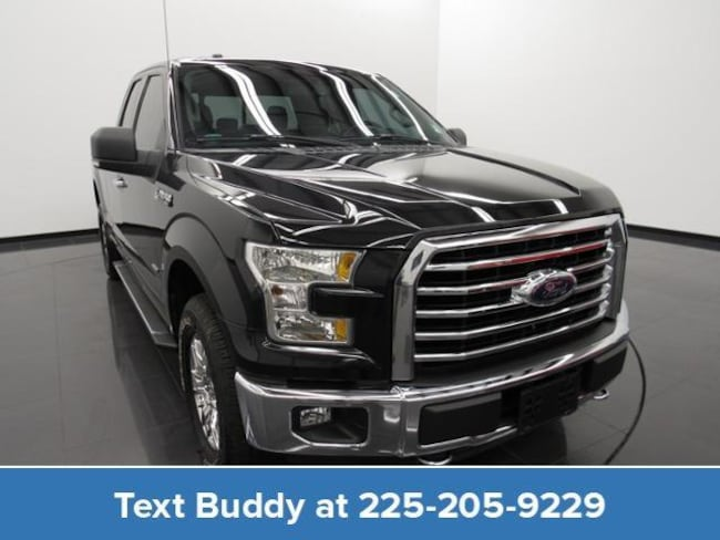 Used 2015 Ford F-150 4WD Supercab 145 XLT Extended Cab Pickup For Sale Prairieville, Louisiana