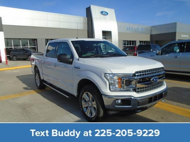 New 2018 Ford F-150 XLT 4WD Supercrew 5.5 Box Crew Cab Pickup For Sale/Lease Prairieville, LA
