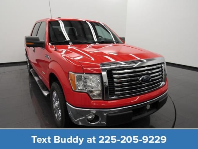 Used 2012 Ford F-150 2WD Supercrew 145 XLT Crew Cab Pickup For Sale Prairieville, Louisiana
