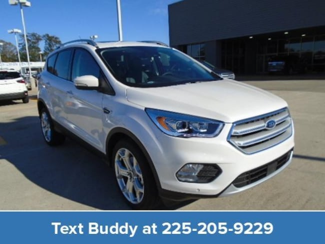 New 2019 Ford Escape Titanium FWD Sport Utility For Sale/Lease Prairieville, LA
