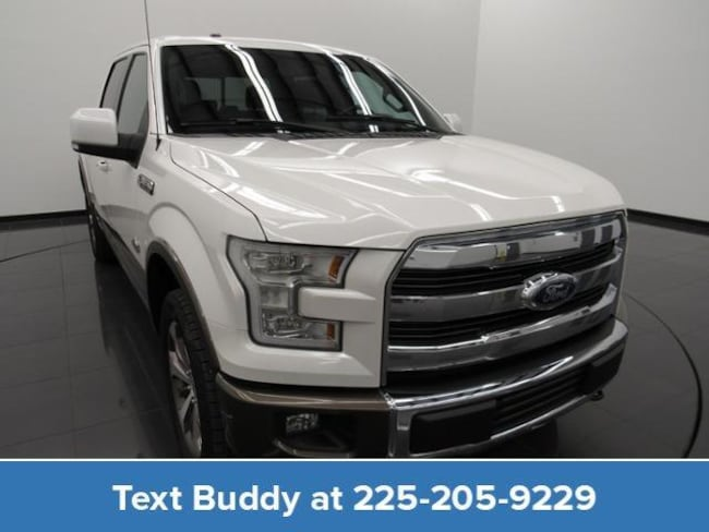 Certified Pre-Owned 2015 Ford F-150 4WD Supercrew 145 King Ranch Crew Cab Pickup For Sale Prairieville, Louisiana