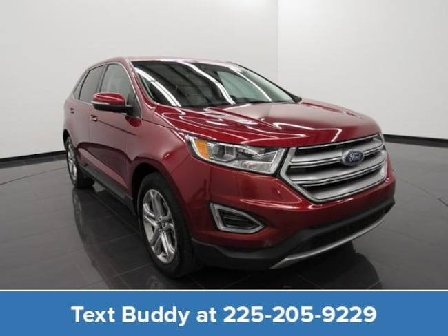 Certified Pre-Owned 2018 Ford Edge Titanium FWD Sport Utility For Sale Prairieville, Louisiana
