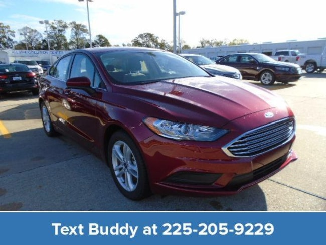 New 2018 Ford Fusion SE FWD Car For Sale/Lease Prairieville, LA