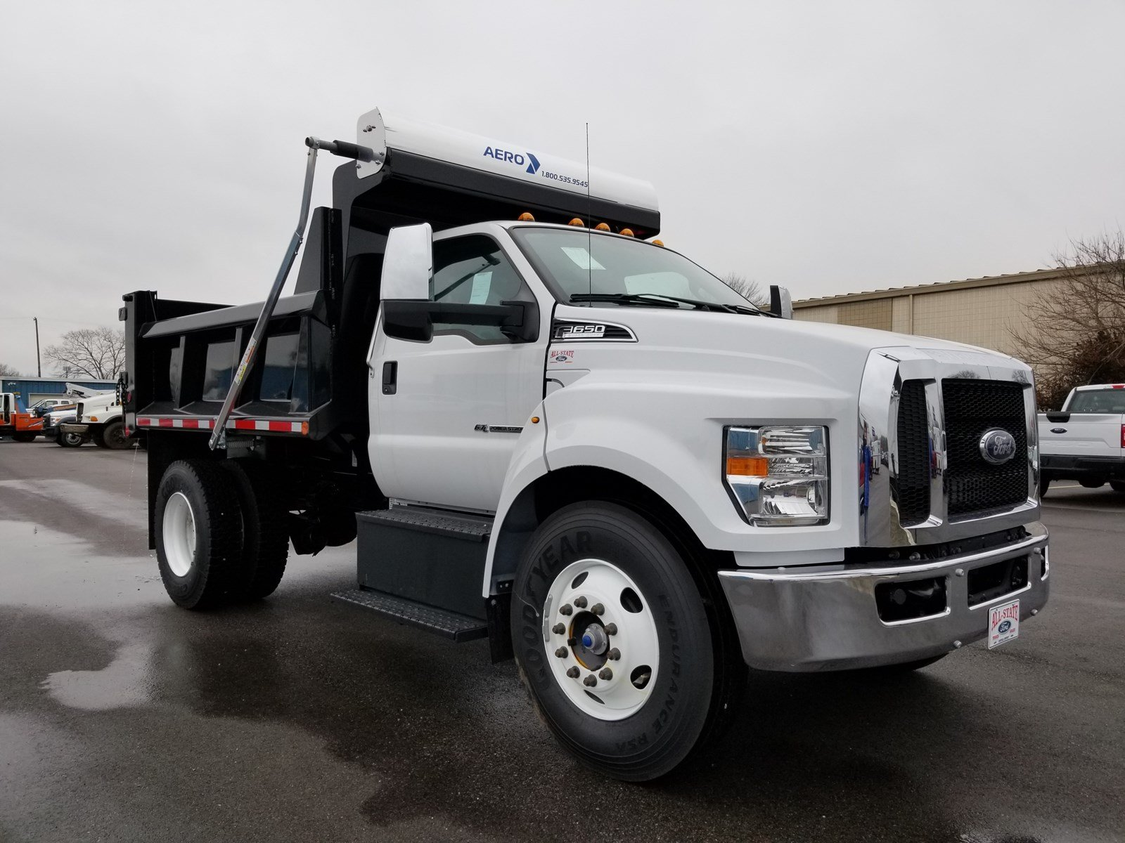 2018 Ford F-650 Diesel Base Truck Regular Cab