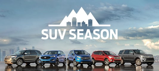Its SUV Season