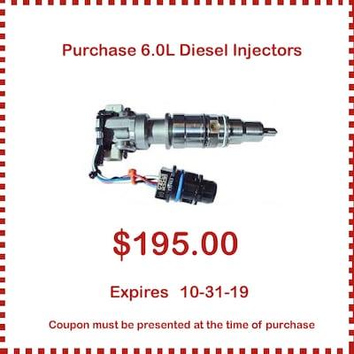 6.0L Diesel Injectors