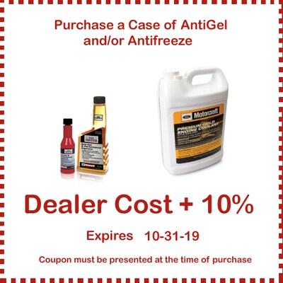 Coolants - AntiGel or Antifreeze
