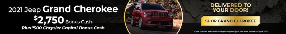 New 2021 Jeep Grand Cherokee | Bonus Cash