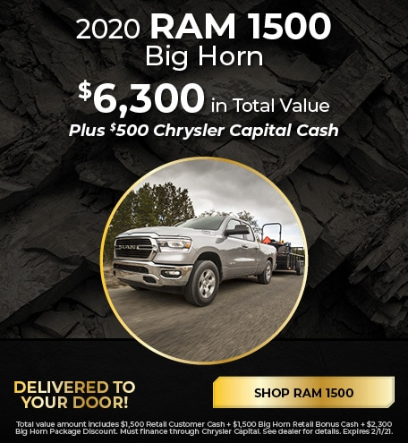 New 2020 RAM 1500   Total Value